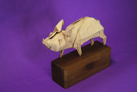 Wilbur by Michael LaFosse, 1991