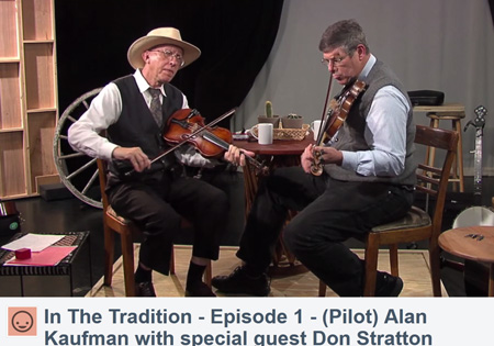 "Scene from ""In the Tradition"" with Alan Kaufman and Don Stratton"