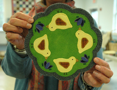 Example of felting