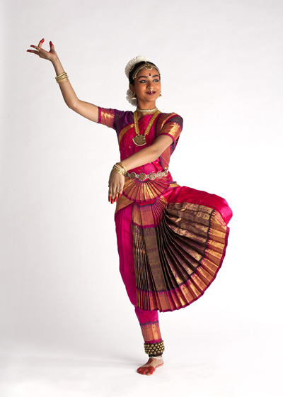 Jaiya in Bharatanatyam costume. Photo by Michael Walz Photography
