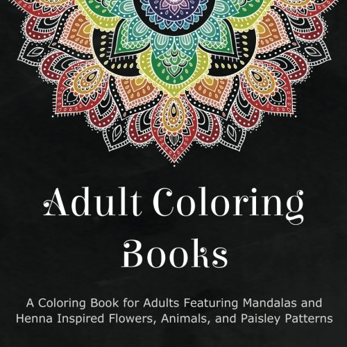 Adult Coloring Book Cover