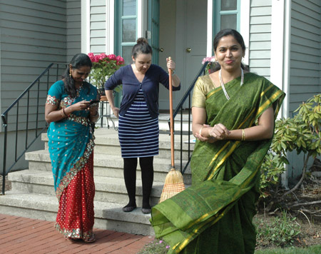 Priya, Nora, and Sridevia