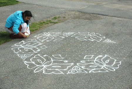kolam_Satya laying grid