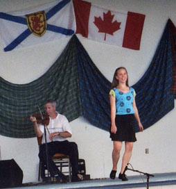 Jen Schoonover dancing