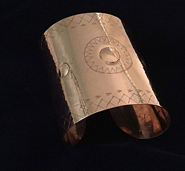 Jonathan James Perry_Star Gauntlet Cuff